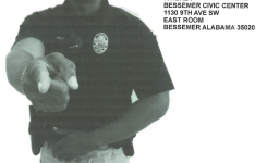 Bessemer Police Dept. Self Defense Awareness Training