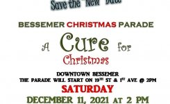 The 2020 Bessemer Christmas Parade has been canceled