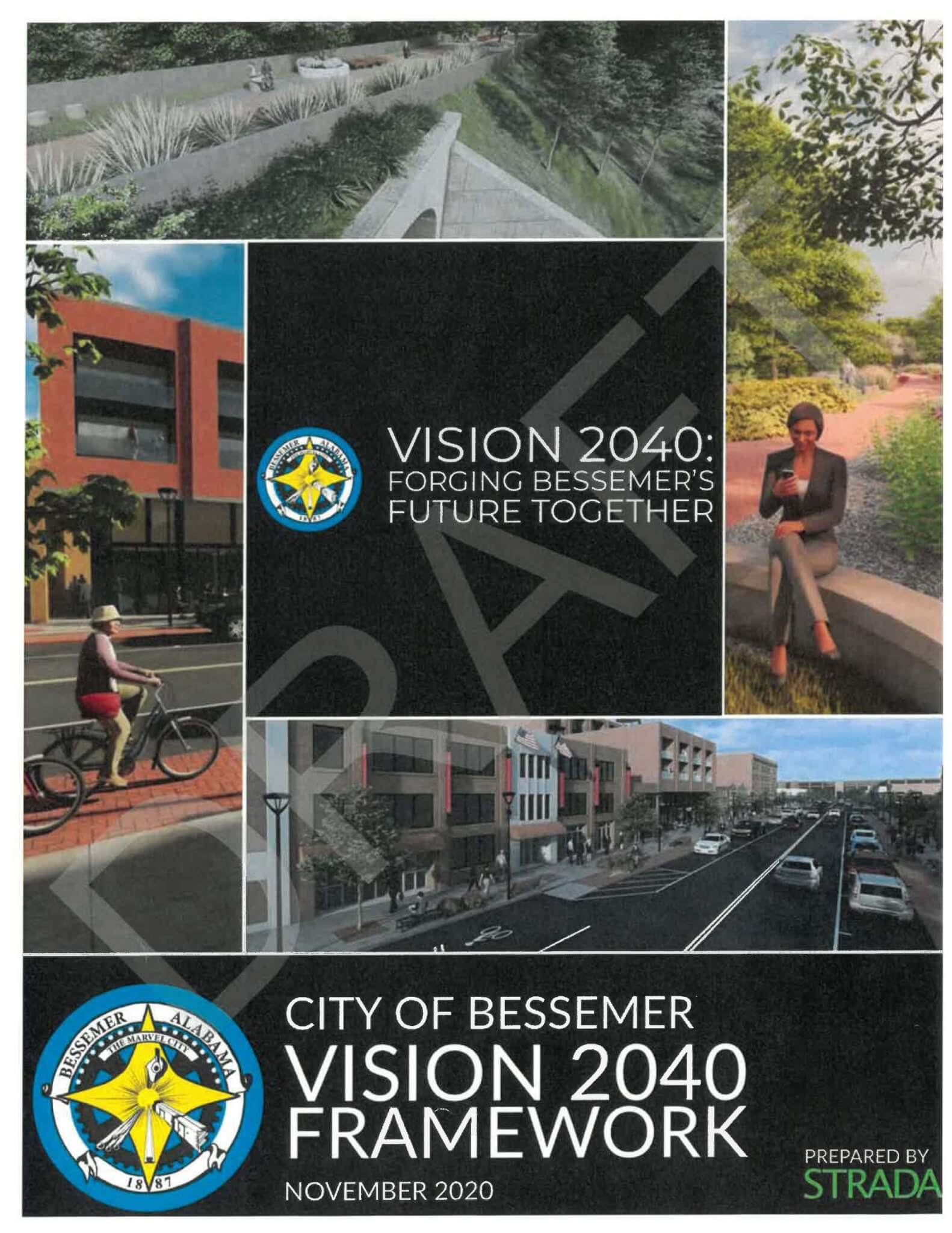 Draft of 2040 City of Bessemer Vision Framework available for review